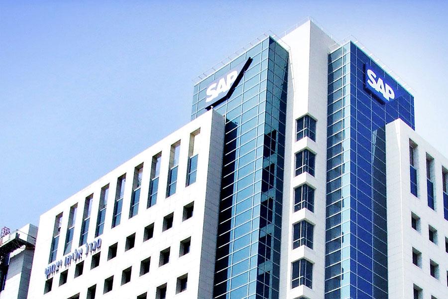 פרויקט חיפוי קירות בזכוכית אנטי סאן - SAP ישראל