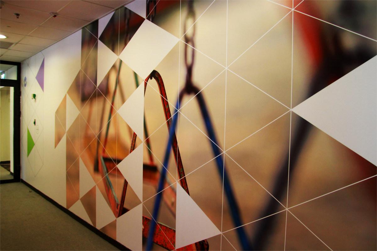 פרויקט מיתוג קירות עבור חברת F5